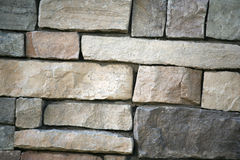 Exterior block wall Royalty Free Stock Photos