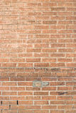 Exterior Brick Wall for Background Royalty Free Stock Images