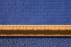 Exterior brick wall Royalty Free Stock Photography