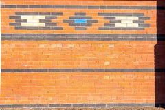 Exterior brick wall Royalty Free Stock Photo
