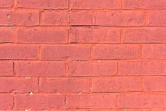 Old painted brick wall Stock Image