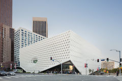 Exterior of The Broad Contemporary Art Museum Royalty Free Stock Images