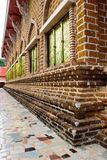 Exterior of Buddhist church in Loei,Thailand Stock Image