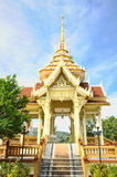 Exterior of buddhist temple. In Thailand island Phuket Royalty Free Stock Photos