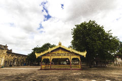 Exterior of Buddhist Temple Stock Photos