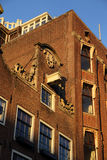 Exterior of building in Amsterdam Royalty Free Stock Photos