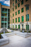 The exterior of the Buncombe County Courthouse in Asheville, Nor Royalty Free Stock Photo