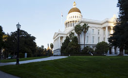 Exterior California State Capitol West And South Walls Royalty Free Stock Photography