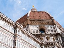 Exterior of cathedral of Florence Royalty Free Stock Image