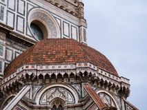 Exterior of cathedral of Florence Stock Image