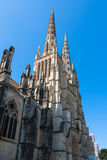 Exterior of the Cathedral of Saint Andre located at Bordeaux Royalty Free Stock Image