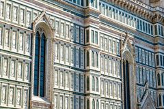 Exterior of the Cattedrale di Santa Maria del Fiore Cathedral o. F Saint Mary of the Flower in Florence, Italy Stock Photos