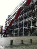 Exterior of the Centre Georges Pompidou Stock Photography