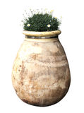 Exterior ceramic vase Royalty Free Stock Photo