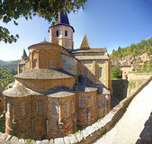 Exterior chapels and turrets Stock Image