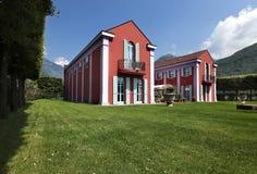Exterior classical style villa Royalty Free Stock Photos