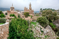 Exterior of Colomares Castle. Benalmadena town, Spain Royalty Free Stock Photo