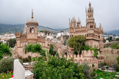 Exterior of Colomares Castle. Benalmadena town, Spain Stock Images