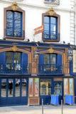 Exterior colorido del restaurante famoso de Laperouse, París, Francia, 2016 Foto de archivo