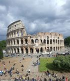 Exterior of Colosseum, Rome, Italay Royalty Free Stock Images