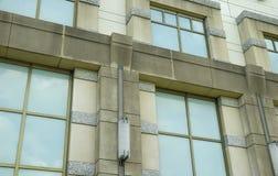 Exterior constructivo foto de archivo