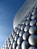 Exterior constructivo curvado moderno futurista Fotografía de archivo