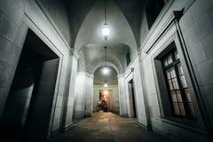 Exterior corridor of the Ronald Reagan Building and Internationa Stock Image
