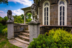 The exterior of the Cylburn Mansion at Cylburn Arboretum in Balt Stock Images
