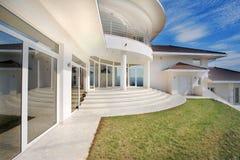 Exterior da casa Fotografia de Stock Royalty Free