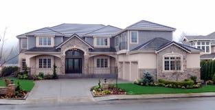 Exterior da casa Imagem de Stock