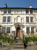 Exterior da casa de cidade de Londres Imagens de Stock