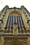 Exterior da catedral do banho Fotos de Stock