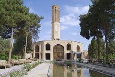 Exterior da construção de Dowlatabad em Yazd, Irã fotografia de stock