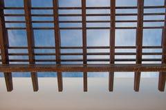 Exterior da construção do hotel fotografia de stock