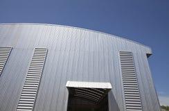 Exterior da construção industrial Imagem de Stock