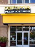 Exterior da cozinha da pizza de Califórnia Fotos de Stock Royalty Free