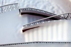 Exterior da escada Fotografia de Stock