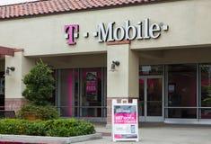 Exterior da loja de T-Mobile Imagem de Stock Royalty Free