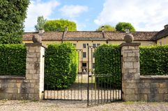 Exterior da mansão Foto de Stock Royalty Free