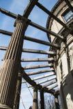 Exterior da mansão dos disjuntores em Newport Rhode - ilha fotografia de stock royalty free