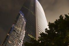 Exterior de construção, noite III Imagens de Stock Royalty Free