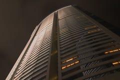 Exterior de construção, noite mim Fotografia de Stock Royalty Free