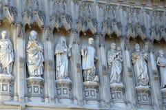 Exterior de la abadía de Westminster, Londres Imagen de archivo libre de regalías