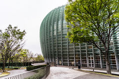 Exterior de la arquitectura moderna imagen de archivo