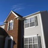 Exterior de la casa. Fotos de archivo