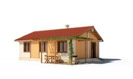 Exterior de la casa Imagen de archivo libre de regalías