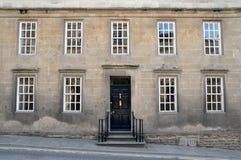 Exterior de la casa de ciudad de Londres Fotos de archivo libres de regalías