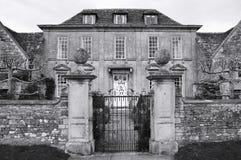 Exterior de la casa de señorío Fotos de archivo libres de regalías