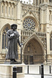Exterior de la catedral de Bristol, Reino Unido Fotografía de archivo libre de regalías