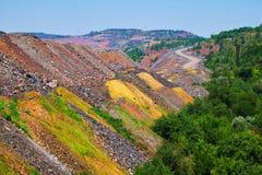 Exterior de la mina Imagen de archivo libre de regalías